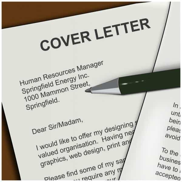 how to make a good cover letters